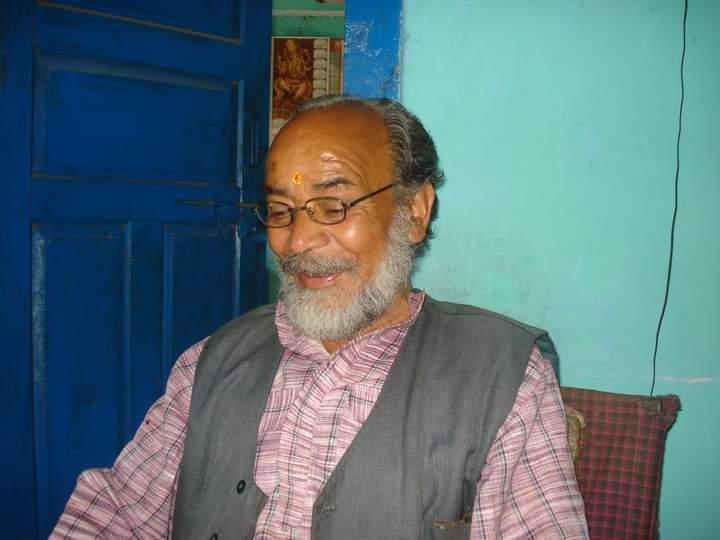 साहित्यकार शिवराज  सिंह रावत 'निस्संग' जी का  निधन